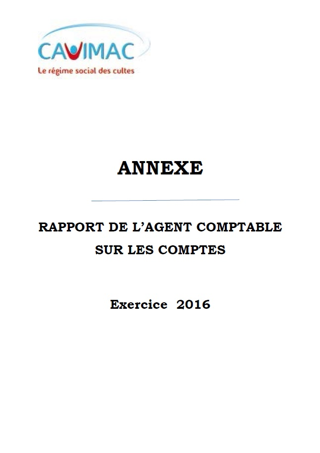rapport comptable 2016